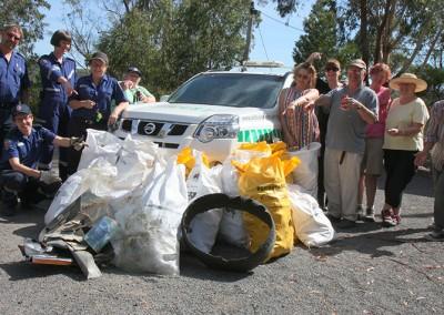 CERT Cleanup Australia Day 2016