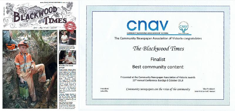 finalist in CNAV 2016 awards