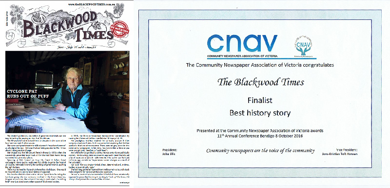 finalist in CNAV 2016 awards