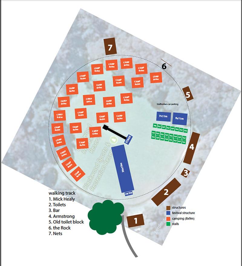 Draft Blackwood Festival Plan