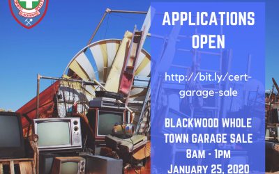 Blackwood Whole Town Garage Sale